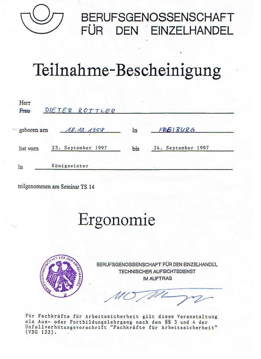 SiB Lehrgang 1997