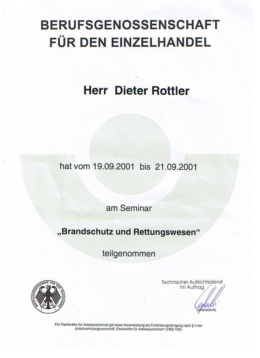 SiB Lehrgang 2001