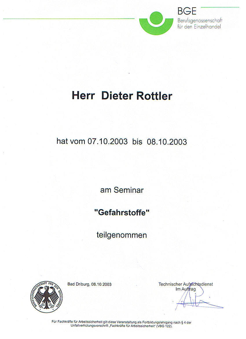 SiB Lehrgang 2003